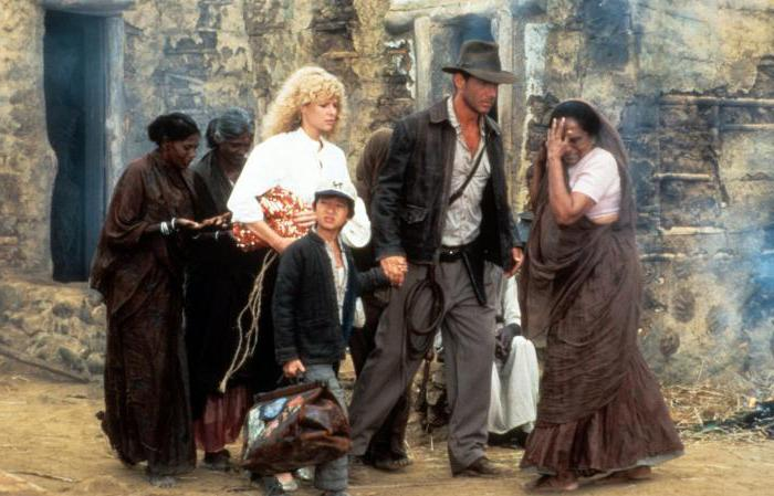 Indiana Jones și Templul Doom: actori și complot